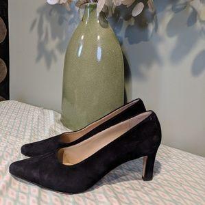 Anne Klein black heels sz 8.5